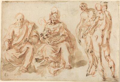 Cesare Pollini, 'The Adoration of the Shepherds'
