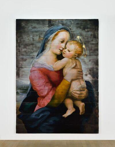 Tursic & Mille, 'Madonna Tempi (d'après Raffaello Sanzio 1508)', 2017
