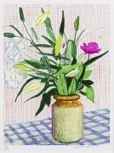 David Hockney, 'Untitled No. 516, from A Bigger Book: Art Edition D', 2010/2016