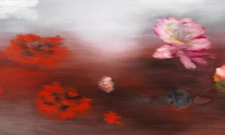 Ross Bleckner, 'The Water Lilies (C.M.)', 2019