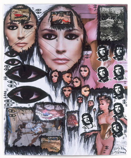 Thomas Hirschhorn, 'Das Auge (Dirty Dilemma) ', 2008
