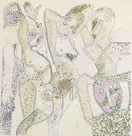 Enrico Baj, 'Les Demoiselles D'Avignon', 1972