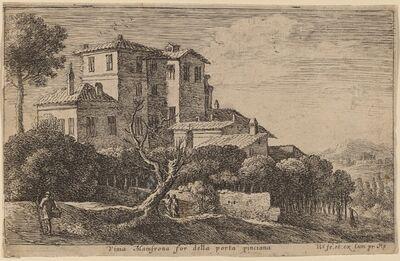 Herman van Swanevelt, 'View of the Vineyard of the Villa Mamsrona'