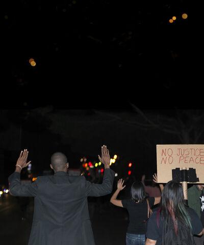 Ken Gonzales-Day, 'No Peace, No Justice', 2015