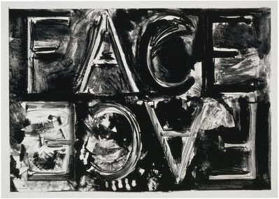 Bruce Nauman, 'Double Face', 1981