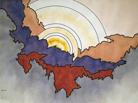 Easton Pribble, 'Clouded Sun', 1988