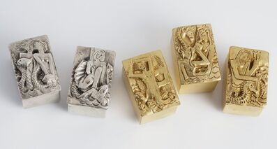 Line Vautrin, 'Les Filles de Neptune, Series of Five Boxes', 1942-1950