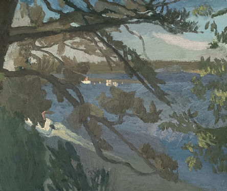 Brian Rego, 'Boats on the Stono River', 2020