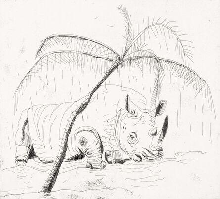 John Kørner, 'Sovende næsehorn', 2014