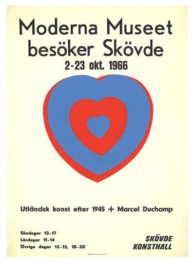 Marcel Duchamp, 'Moderna Museet (Heart)', 1966