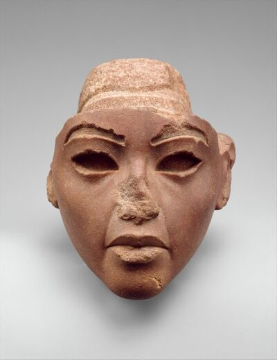 Unknown Egyptian, 'Face from a Composite Statue, probably Queen Tiye', ca. 1353–1336 B.C.
