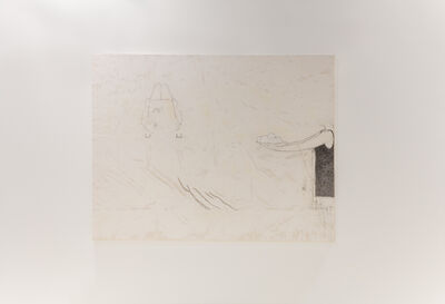 Julião Sarmento, 'A Donkey With Bifid Ears', 1999