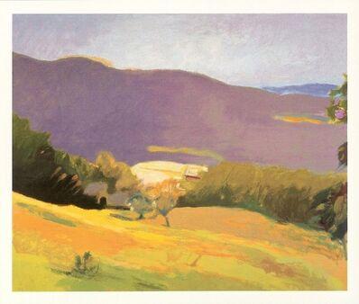 Wolf Kahn, 'Down in the Valley', 2006
