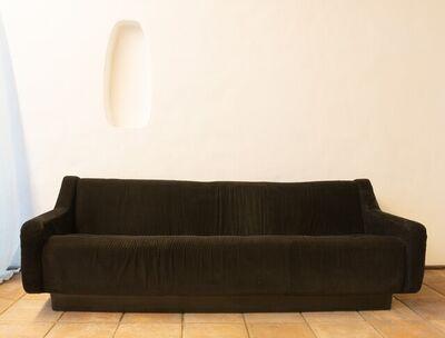 Jorge Zalszupin, 'Unique Black  Velvet Sofa Prototype from Zalszupin own house', 1970-1979