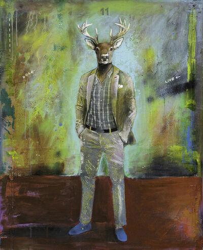 Lech Bator, 'Dog Live <', 2019