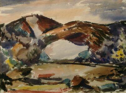 Agnes Weinrich, 'Purple Dunes, Fall', n.d.