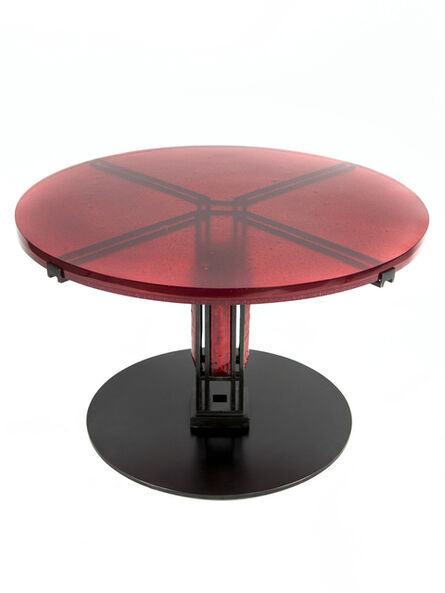 Christophe Côme, 'Red Sidetable', 2014