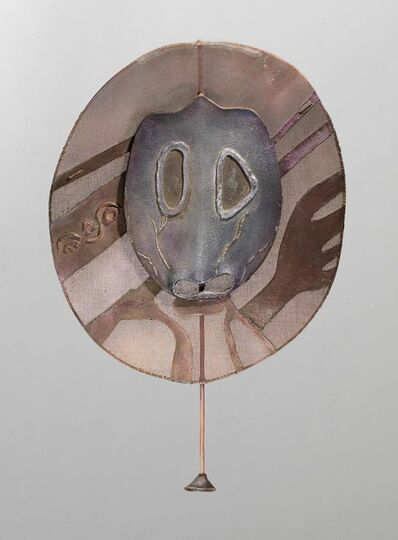 Leonora Carrington, 'Mauve Mask', 1976