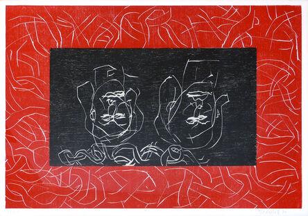 Georg Baselitz, 'Red Sisters – Aman', 1994-1995