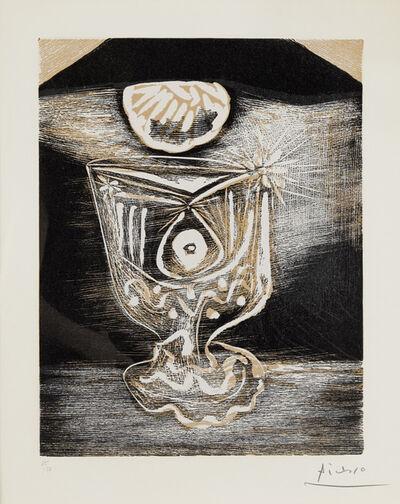 Pablo Picasso, 'Le verre sous la lampe (Bloch 1103; Baer 1314)', 1962