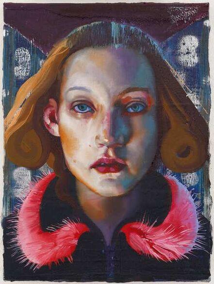 Rayk Goetze, 'Portrait of a Girl', 2019