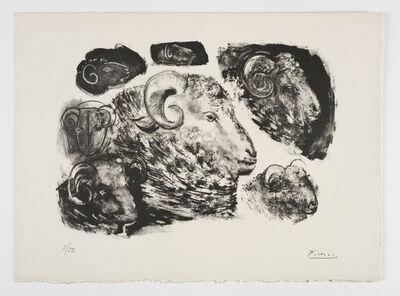 Pablo Picasso, 'Têtes de Béliers', 1945