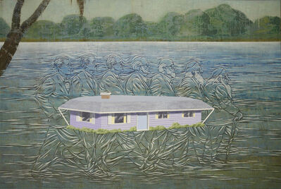 Jim Shaw, 'The House In Mississippi', 2013