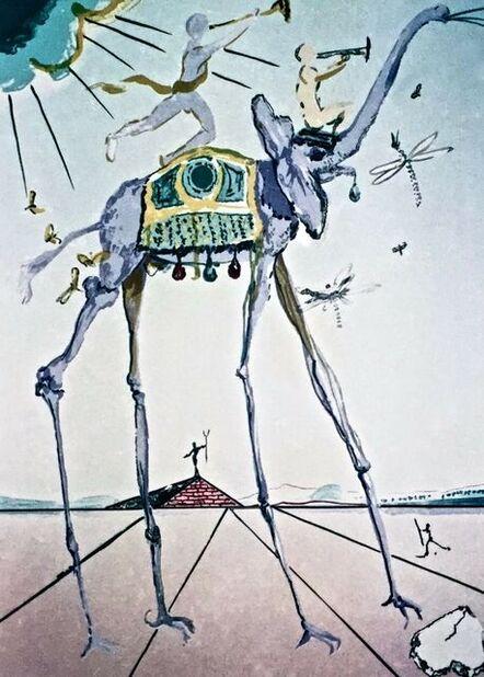 Salvador Dalí, 'Celestial Elephant', ca. 2000