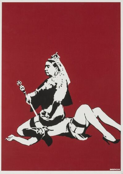 Banksy, 'Queen Victoria', 2003