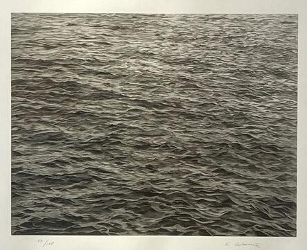 Vija Celmins, 'UNTITLED (OCEAN WITH CROSS #1)', 2005