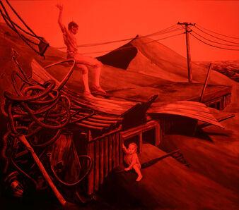 Liu Wa, 'Glimpse: A Fleeting Shade, composition 1', 2019
