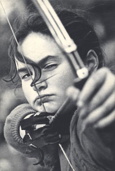 Lev Borodulin, 'Girl Archer', 1956