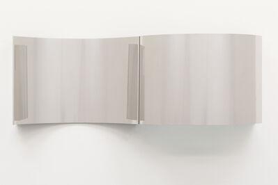 """Walead Beshty, 'Steel Surrogates (48"""" x 120""""16 Gauge 304 Stainless Steel Alloy, Convex Curve / 48"""" x 120"""" 16 Gauge 304 Stainless Steel Alloy, Concave Curve)', 2019"""