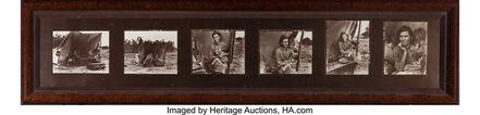 Dorothea Lange, 'Migrant Mother (contact sheet, six photographs)', 1936