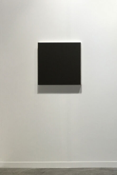 "Rudolf de Crignis, 'Painting #93042, ""Green-Red"" - Black series', 1993"
