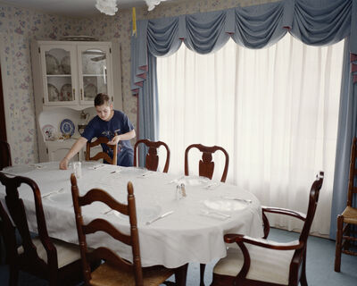 Jessica Ingram, 'Little Steven Setting the Table (from the series Waiting for a Sign)', 2002