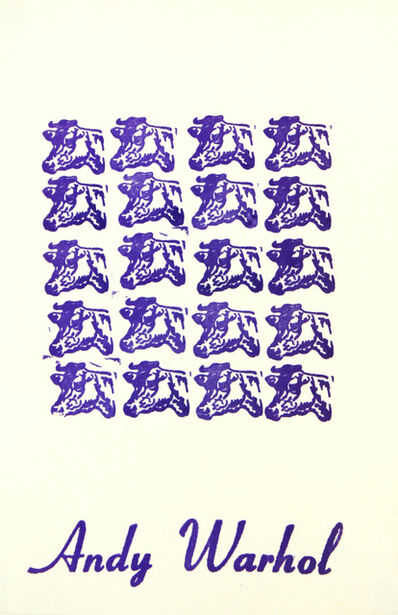 Andy Warhol, 'Cows', 1967