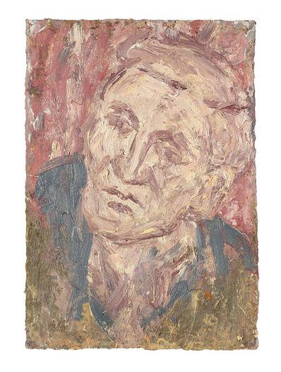 Leon Kossoff, 'Head of John I', 2005