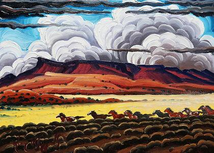 "Kim Wiggins, '""Wild Horses in the Canyonlands""'"