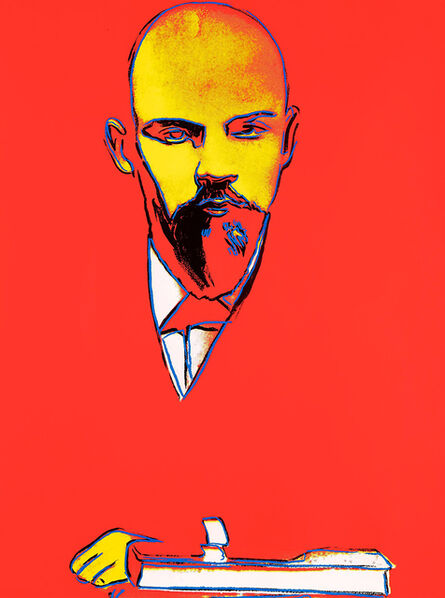 Andy Warhol, 'Red Lenin ', 1987
