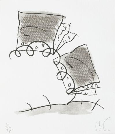 Claes Oldenburg, 'Notebook Torn in Half', 1997