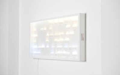 Humans Since 1982, 'Collection of Light, led 300', 2011