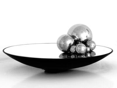Emire Konuk, 'Mechatronic concave mirror & steel balls', 2013