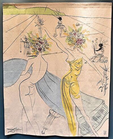 Salvador Dalí, 'Hippies Suite: Femmes Fleurs Au Piano ', 1973