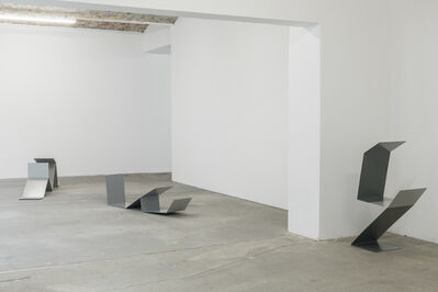 Judith Hopf, 'Untitled (Laptop Men)', 2018