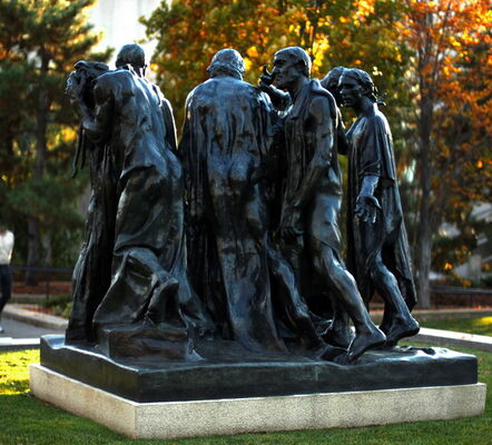 Auguste Rodin, 'Burghers of Calais', 1884-1889