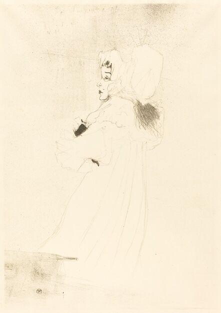 Henri de Toulouse-Lautrec, 'Miss May Belfort, Large Plate (Miss May Belfort, grande planche)', 1895