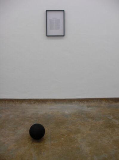 Lúcia Prancha, 'Black Sun', 2012