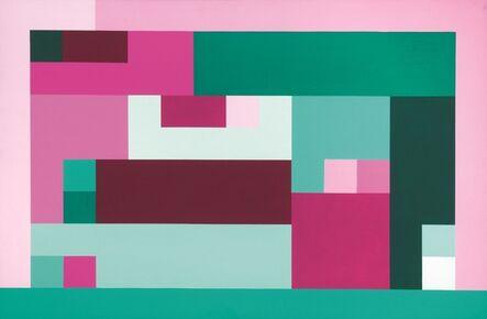 Sergio Lombardo, 'Mappa di headwood a 12 colori', 2002