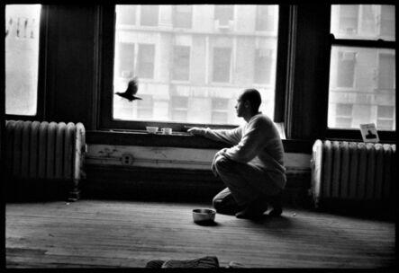 Roland Hagenberg, 'Francesco Clemente in his New York studio', 1983
